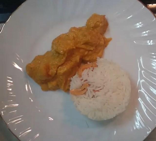 12 Receta pollo al curry