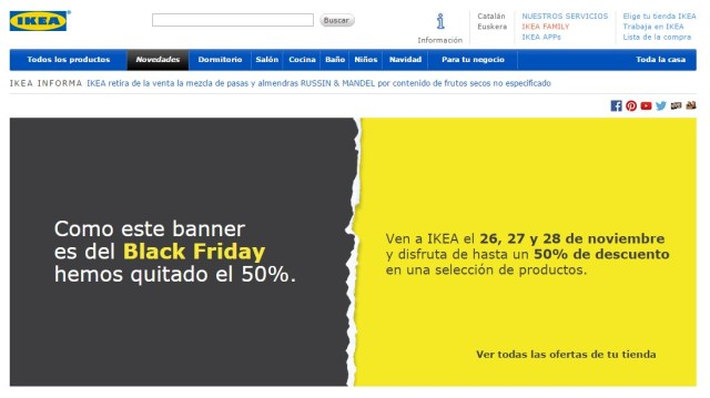 Black Friday TrendyTwo Trendy Two Ofertas Mejores España Madrid Blog Moda Ikea