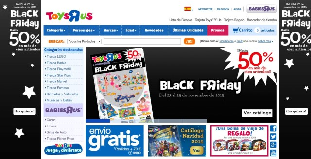 Black Friday TrendyTwo Trendy Two Ofertas Mejores España Madrid Blog Moda Toys R Us