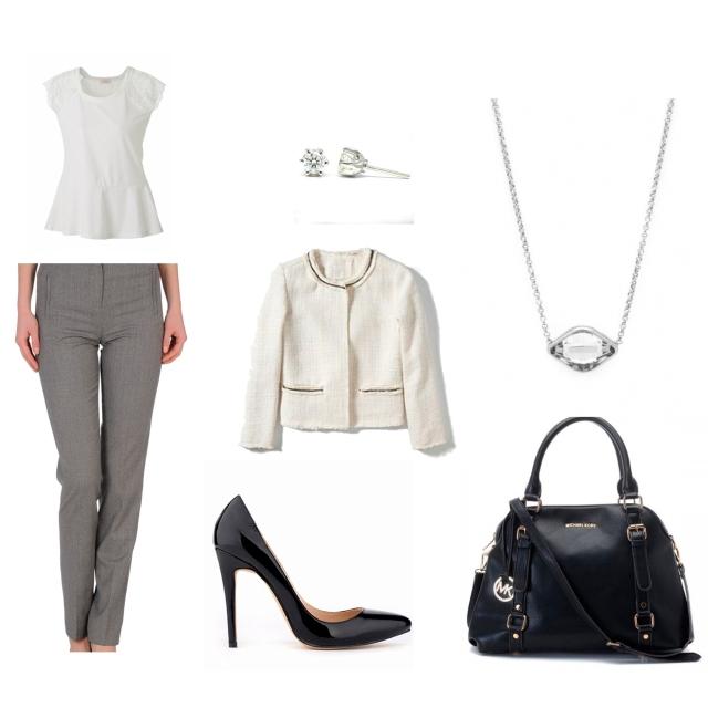 Look Entrevista Outfit de trabajo trendy two trendytwo blog de moda 3