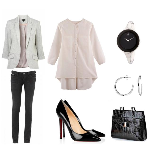 Look Entrevista Outfit de trabajo trendy two trendytwo blog de moda