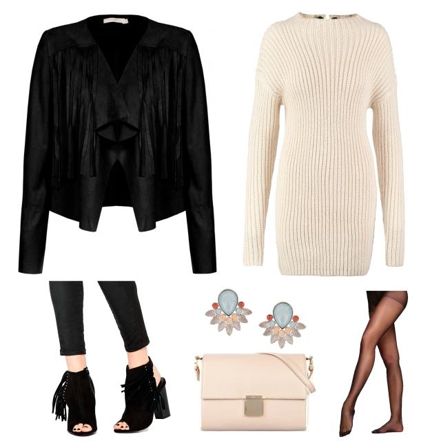 Vestido de Punto trendy two trendytwo blog de moda fashion blogger carmen marta gemelas