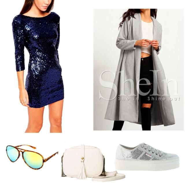 Vestido glitter trendy two trendytwo blog de moda fashion blogger carmen marta gemelas