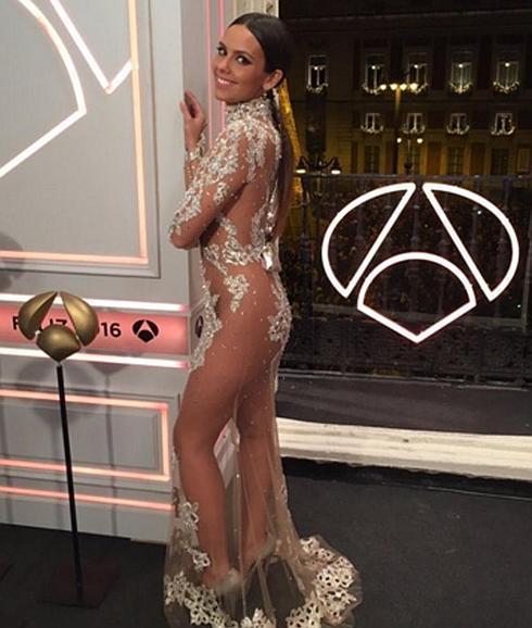 cristina pedroche vestido nochevieja promovidas antena 3
