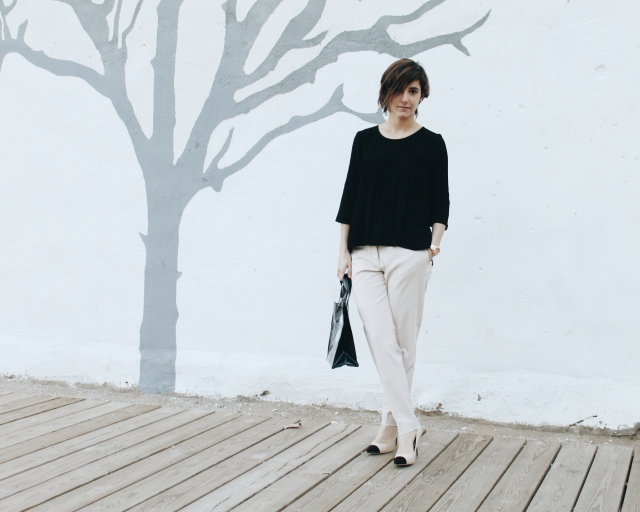 blog look outfit moda fashion girl chica low cost barato trabajar work bloguer bloguera