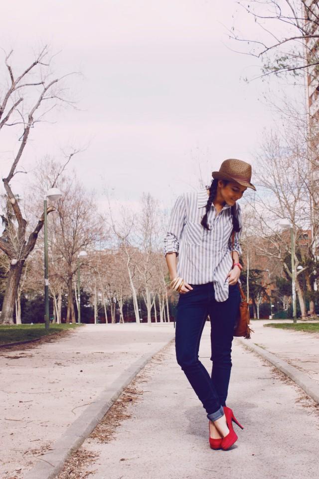 Look outfit Carmen Marta blog de moda lifestyle trendytwo trendy two gemelas alimentación vida sana sombrero 2