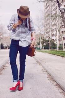 Look outfit Carmen Marta blog de moda lifestyle trendytwo trendy two gemelas alimentación vida sana sombrero 3