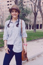 Look outfit Carmen Marta blog de moda lifestyle trendytwo trendy two gemelas alimentación vida sana sombrero 5