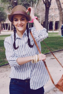 Look outfit Carmen Marta blog de moda lifestyle trendytwo trendy two gemelas alimentación vida sana sombrero 6