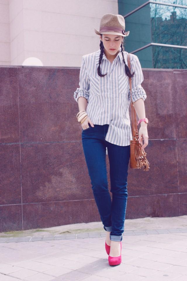 Look outfit Carmen Marta blog de moda lifestyle trendytwo trendy two gemelas alimentación vida sana sombrero