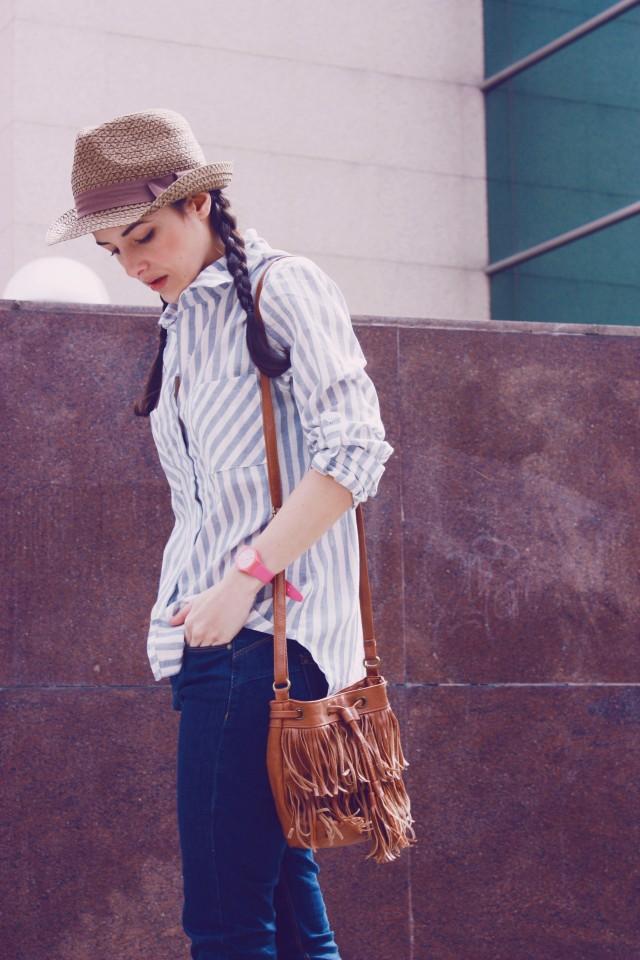 Look outfit Carmen Marta blog de moda lifestyle trendytwo trendy two gemelas alimentación vida sana sombrero1
