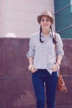 Look outfit Carmen Marta blog de moda lifestyle trendytwo trendy two gemelas alimentación vida sana sombrero3