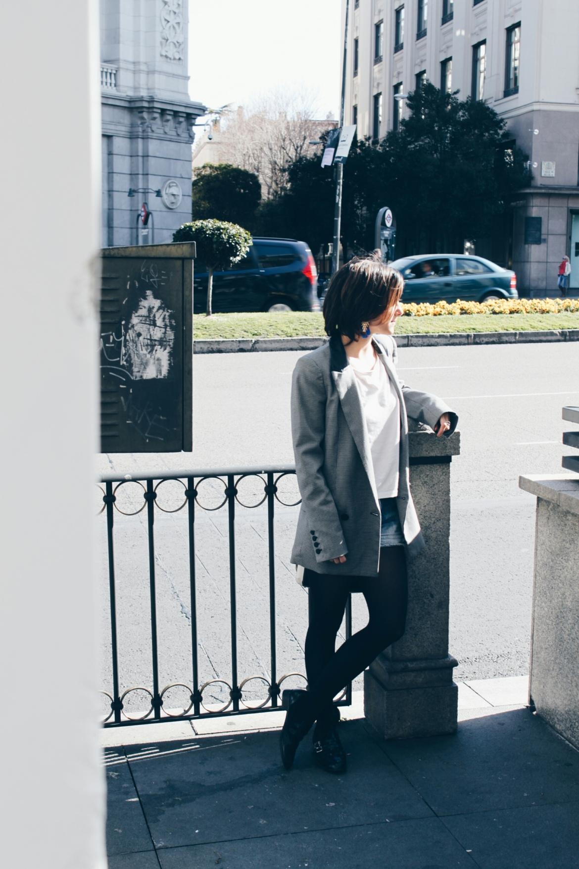 blog blogger bloguera blogueras carmen marta twins twin gemela gemelas fashion moda blazer americana outfit look madrid