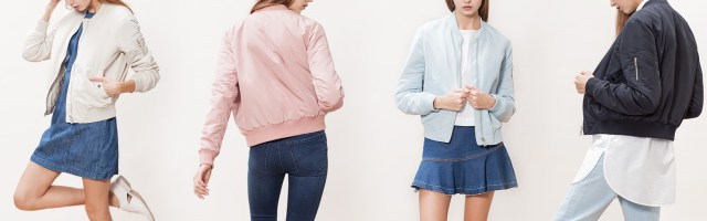 Blog moda tendencias primavera 2016 bombers bomber rosa azul cian claro palo trendytwo trendy two