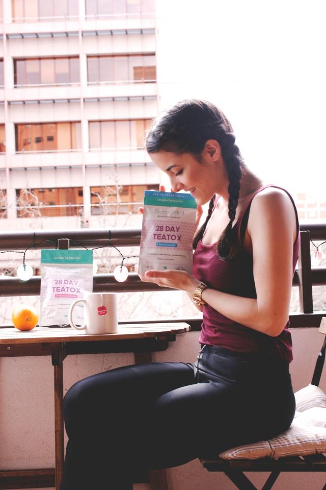 SkinnyMint Teatox dieta tés carmen marta adelgazar vida sana deporte sano blog de moda 4