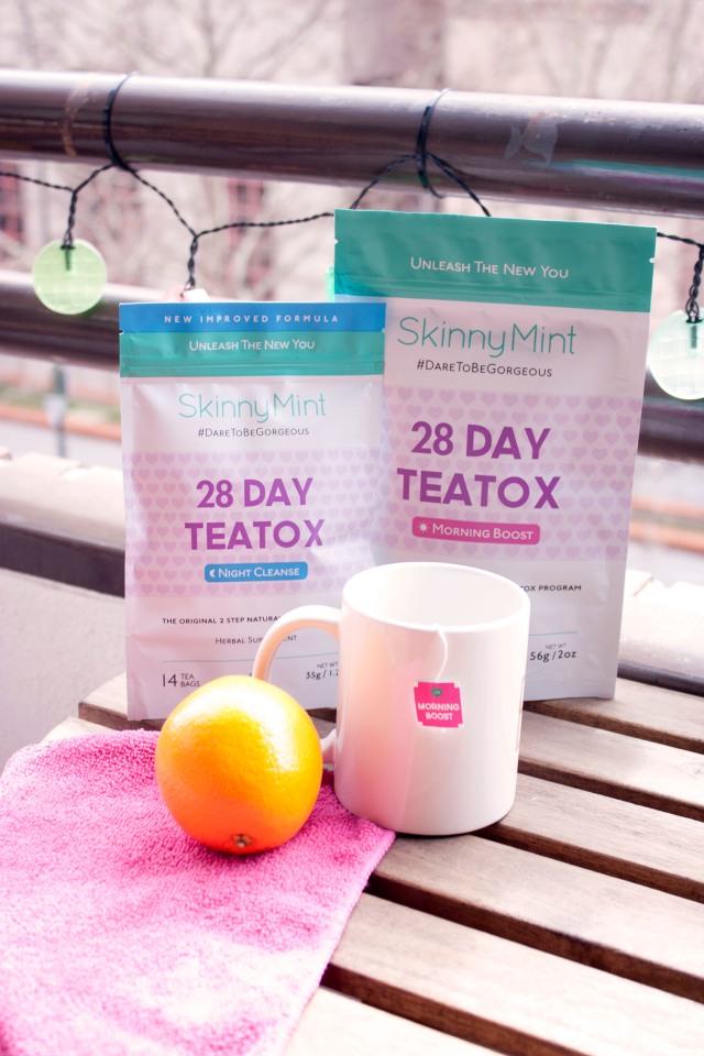 SkinnyMint Teatox dieta tés carmen marta adelgazar vida sana deporte sano blog de moda