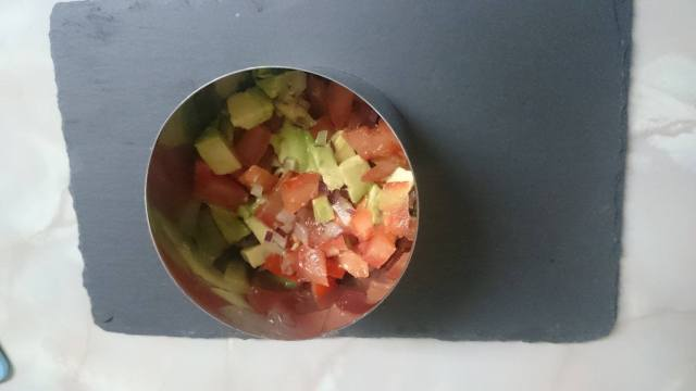 tartar salmón vegana vegano receta ingredientes fácil rápida sencilla sana económica express blog de moda alimentación vida sana 7