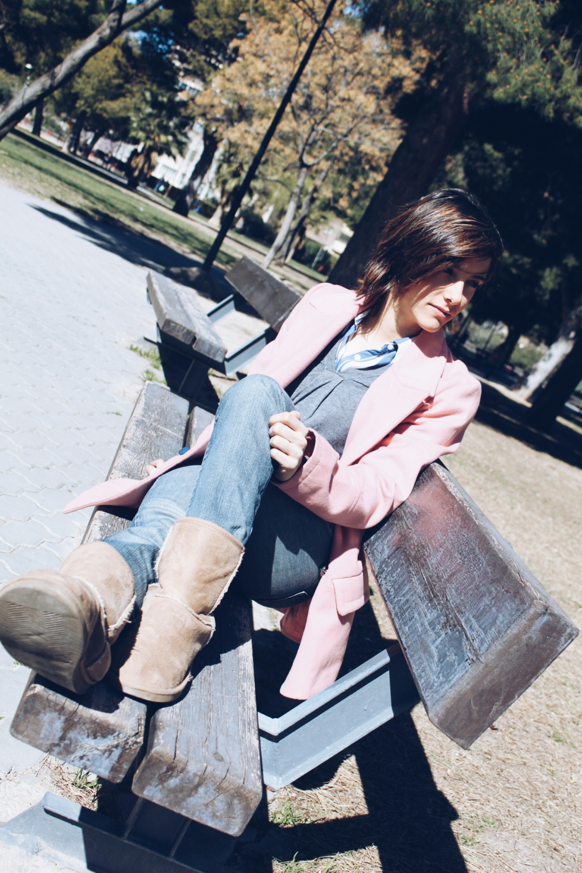 girl abrigo coat rosa rose pink la vie en trendy two blog blogger fashion fashionblogger bloguera cámbiame moda tendencia