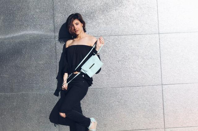 blog blogger gemelas trendy two fashion moda camiseta off-shoulder escote barco summer verano