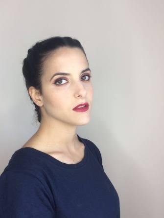 maquillaje fuerte contraste corinto turquesa color countoring contoring kim kardasian trendytwo trendy two gemelas blog moda 3
